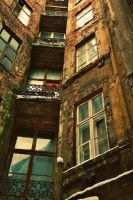 ruined apartment house 2 by ulbrek