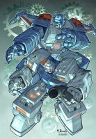 Transformers: Topspin and Twin by diablo2003