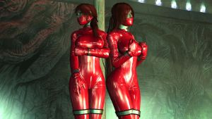 The Rubber Twins by skygaggedrim