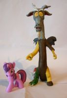 My Little Pony- Discord (with Twilight Blind Bag) by Ben1138