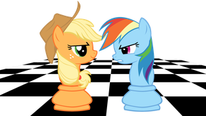 Chess ponies by Kapten-N