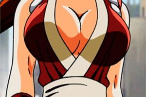Mai Shiranui Bouncy Boobs GIF by hey-mr-dj
