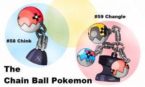 #058-059: The Chain Ball Fakemon by rohanfulton