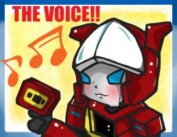 Blaster-The Voice by BumblebeeSam