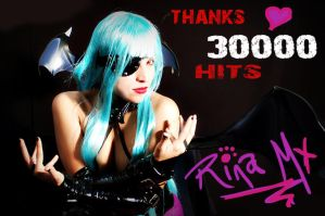 30000 Hits, Thanks by RinaMx