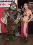Leia with the Gamorrean Guard by Sheikahchica