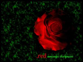 red amongs the green by jk0921