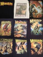 Famous Monsters Shirts Collection by Legrandzilla
