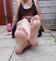 Stretched Soles by Miss----A