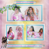 +Photopack png de Beyonce y Nicki. by MarEditions1
