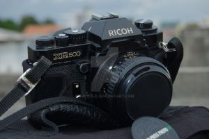 My Old Ricoh XR500_2 by zackold