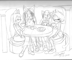 Tea with Sisters by jrc1120