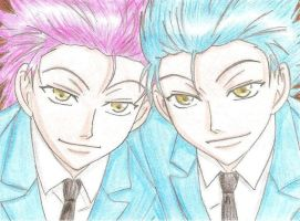 Hitachiin Brothers. by Bachitari