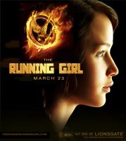 HUNGER GAMES ( RUNNING GIRL ) POSTER by EARTHDOG420