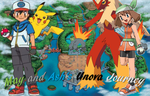 May and Ash's Unova Journey by AdvanceArcy