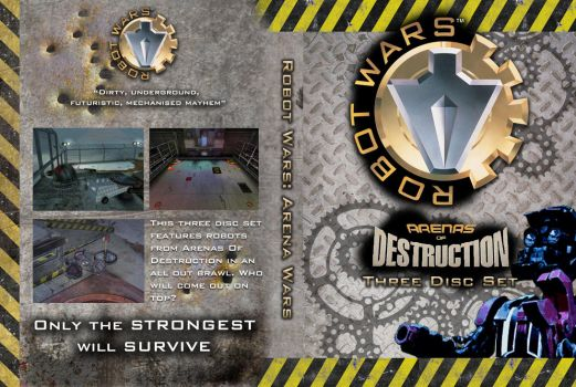 Robot Wars: AOD 3-DVD set cover by OliverGeary