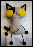 Ross' Zombie cat by plushrooms