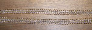 chain maille necklace by SparklersOasis