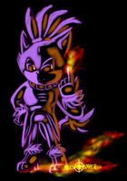 Burning Cat by Miles-The-Sniper