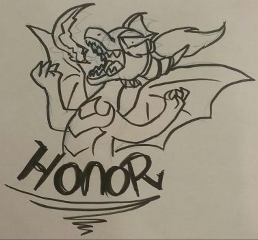 HONOR!!!!! by VDragon-Creations