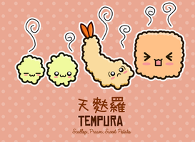 Kawaii Sushi 2013: Tempura by The-8th-Sin