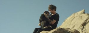 Louis holding the monkey by Namine24