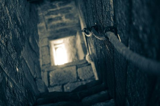 - Stairs of Light - by Margote