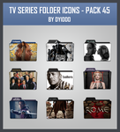 TV Series Folder Icons - Pack 45 by DYIDDO