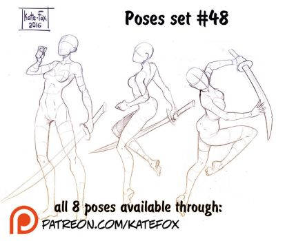 Pose study 48 by Kate-FoX