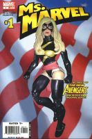 Custom Action Figure Ms Marvel #1 Cover Tribute by ayelid