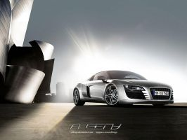 audi r8 wallpaper by albenyd
