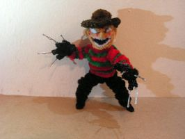 Freddy Krueger (Mortal Kombat) by fuzzyfigureguy
