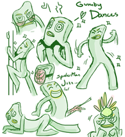 Gumby Dances by Leemak