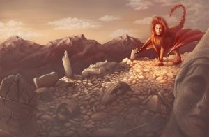 The Manticore by Petrichora