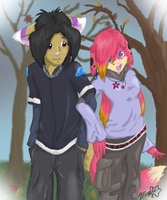 Best Friends Forever by acerpalmatum