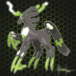 Zygarde 88% by AdrianoL-Drawings