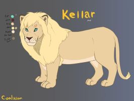 Kellar - Ref Sheet 1 by DrazziElder