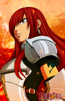 Erza's Fury by pkachu-kun