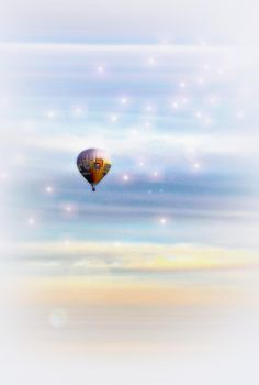 air balloon in the sky by swealex