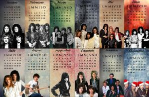 Queen 2014 Calendar by Fairy-of-the-valley
