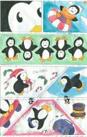 Penguins by Flareia
