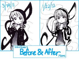 BeforeandAfter :Sumi-chan: by MikiClover