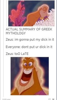Greek Mythology by TheFunnyAmerican