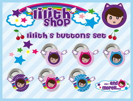 lilith's buttons set by lilithStyle