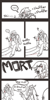 Distraction :sketchy comic: by Zeknox