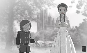 Paper GAME OF THRONES (Wedding Edition) by EadgeArt