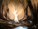 The Ghost Tree by Hikky-br