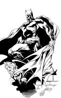 BATMAN INKED by Tommy Phillips by TommyPhillips