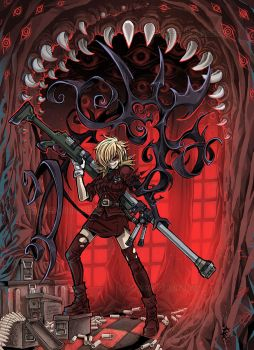 Seras Redraw by bezzalair