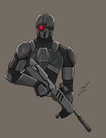 Death Jumper Phase II (Nights Ops) by DestructoWad